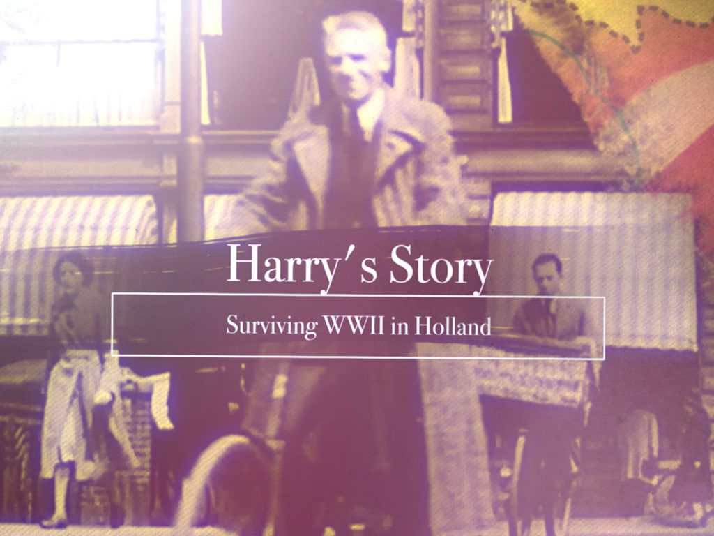 Harry's Story reveals what is was like living as a Dutch civilian during WWII Nazi occupied Germany.