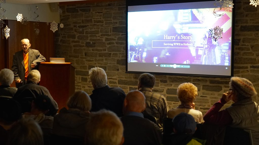 Harry's Story screened at Lennox & Addington County Museum and Archives